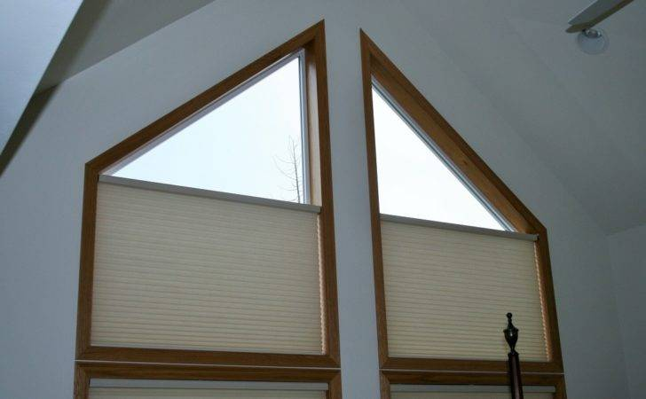 Absolute Blinds Triangle Window Cool