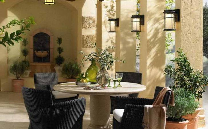 Accessories Decorating Small Patio Chairs Rattan