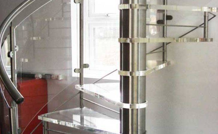 Acrylic Spiral Staircase Romsey Staircases