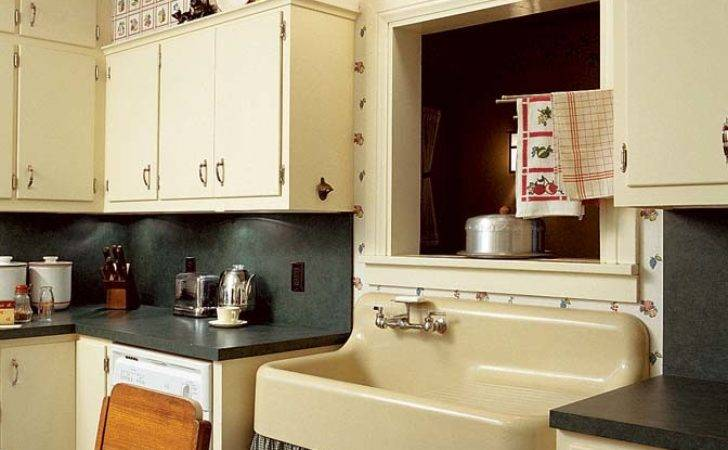 Add Charm Kitchen Old House