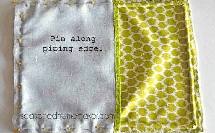 Add Piping Pillow