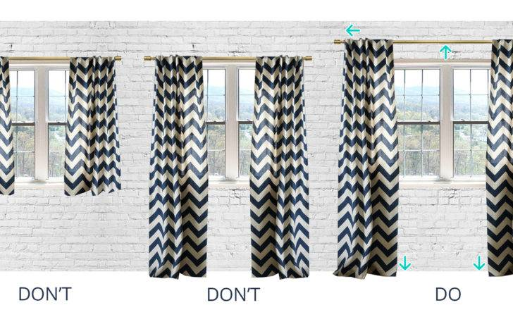 Adorable Hang Curtains Inspiration Design