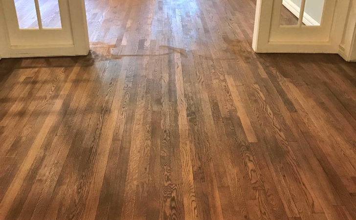Adventures Staining Red Oak Hardwood Floors