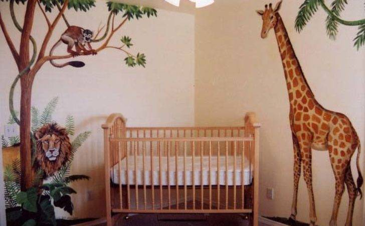 African Decorating Theme Kids Room Ideas