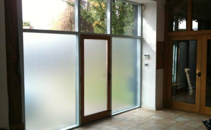 Albright Window Films Privacy Frosted Film