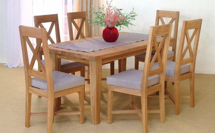 Alfred Smith Collection Penzance Oak Dining Set