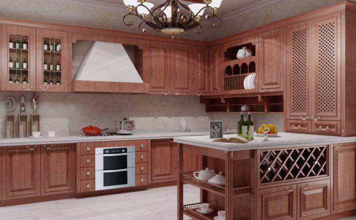 Aliexpress Buy Customized Solid Wood Kitchen