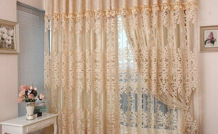 Aliexpress Buy Gold Quality Jacquard Window Curtain