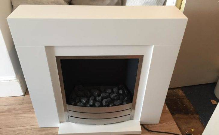 Amazing Beccles Electric Fireplace Suite White Perfect