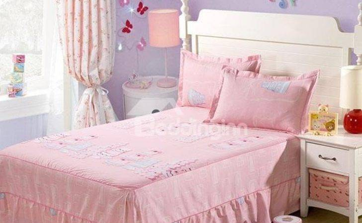 Amazing Gifts Printed Princess Style Bed Skirt