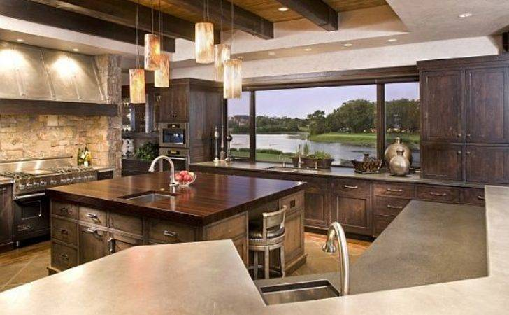 Amazing Kitchens Stunning Views