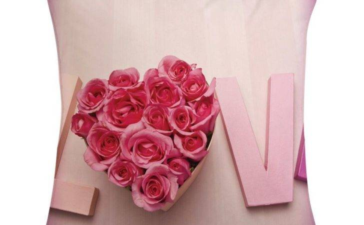 Amore Love Rose Cushion Cover Buy Best Price