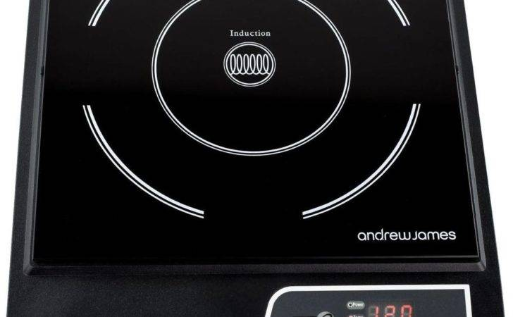 Andrew James Digital Induction Hob Electric Single Ring