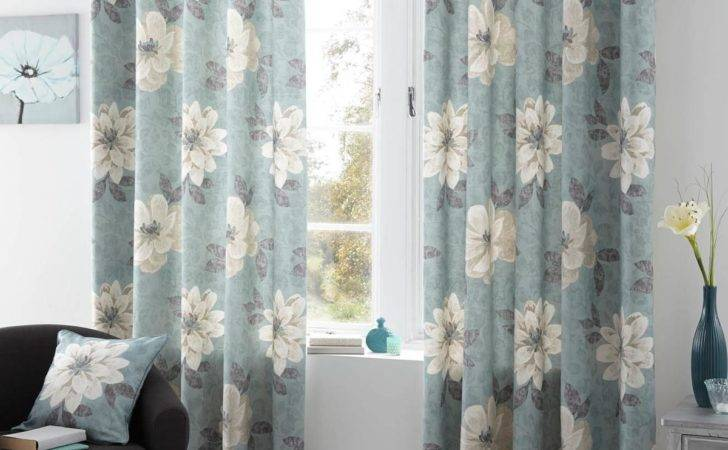 Annabella Eyelet Curtains Duck Egg Delivery