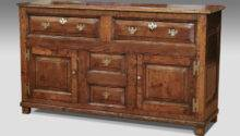 Antique Dresser Base Sideboard Oak