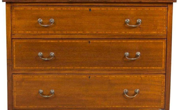 Antique Edwardian Period Chest Drawers Dresser