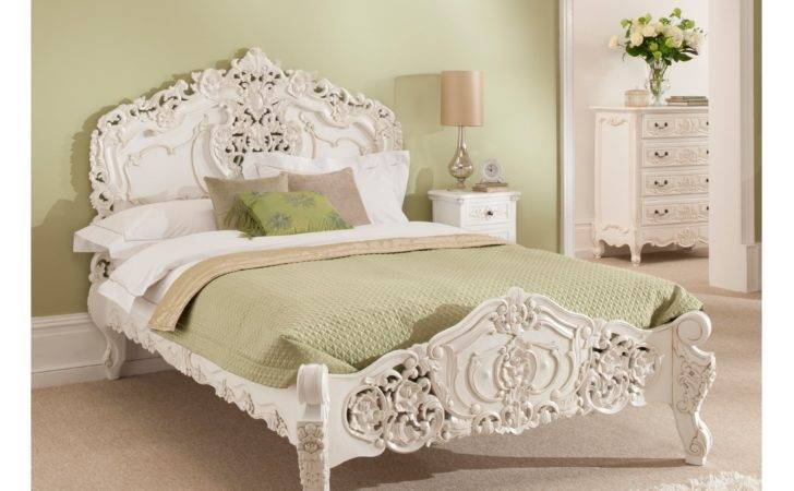 Antique French Style Rococo Bed Homesdirect