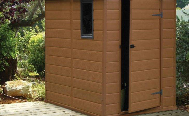 Apex Shiplap Plastic Shed Base Included Departments