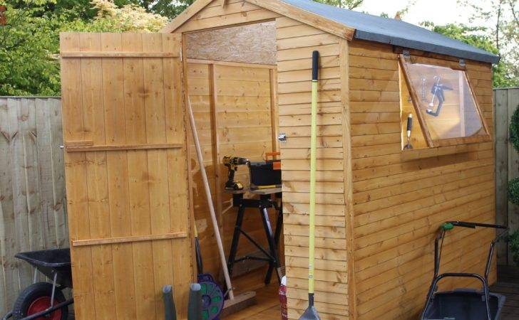 Apex Shiplap Wooden Shed Base Included Departments