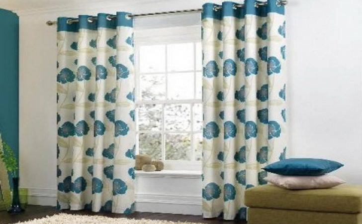 Appealing Modern Living Room Curtains Ideas