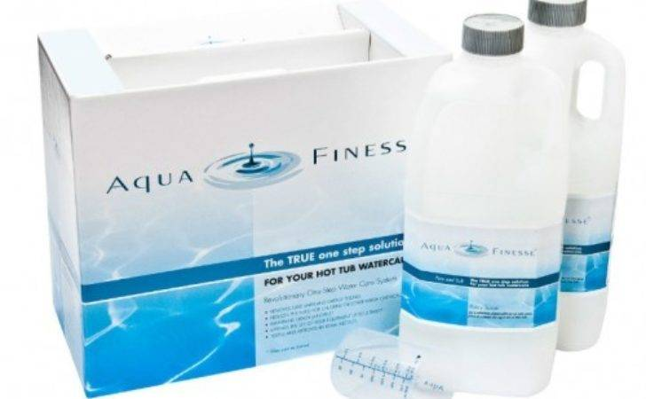 Aquafinesse Hot Tub Watercare Kit Discount Pool Products