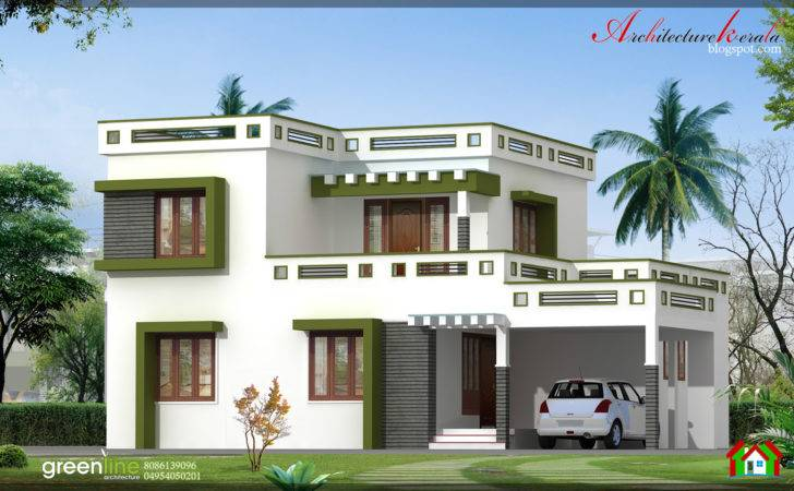 Architecture Kerala Bhk New Modern Style Home