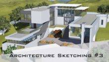Architecture Sketching Design House