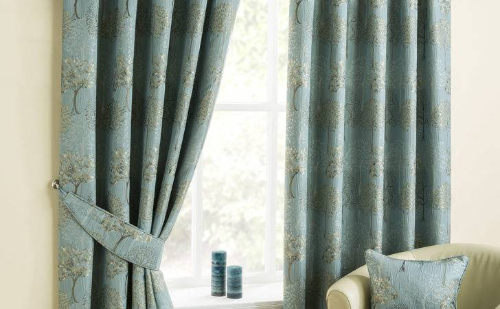 Arden Duckegg Pencil Pleat Luxury Ready Made Curtains