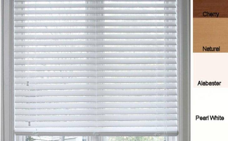 Arlo Blinds Customized Faux Wood Inch Window