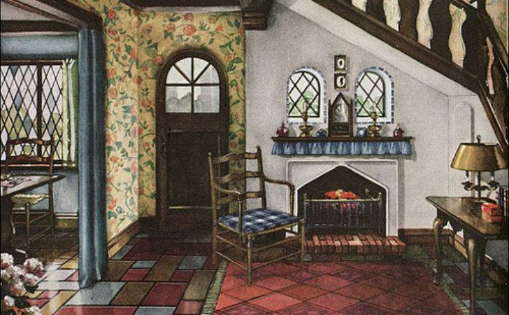 Armstrong Linoleum English Revival Style Flickr