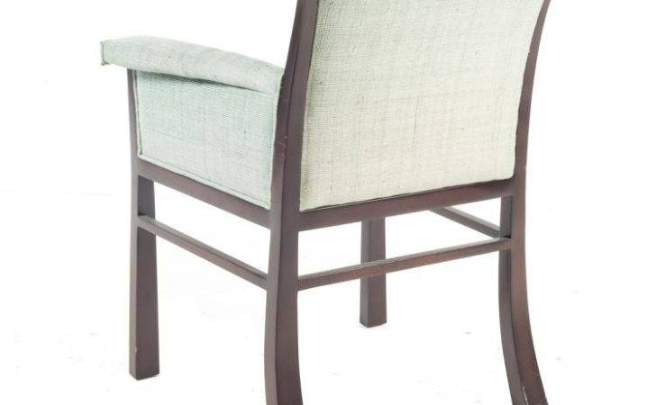 Art Deco Style Upholstered Armchair