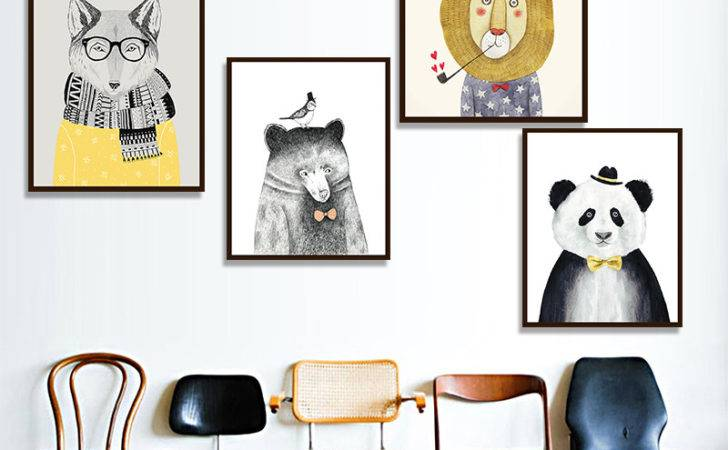 Art Prints Poster Wall Canvas Painting Kids Room