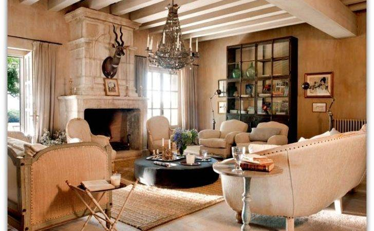 Art Symphony French Country House Interior