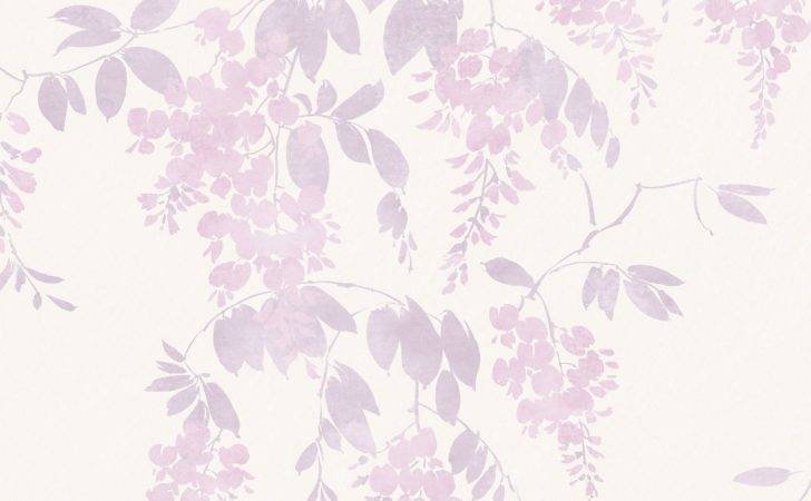 Arthouse Eco Wisteria Lilac Floral Departments