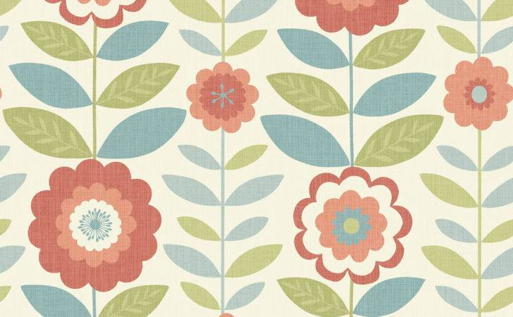 Arthouse Flower Power Coral Teal Deal