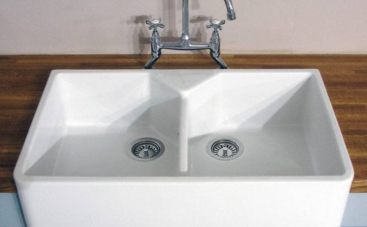 Astini Belfast Bowl White Ceramic Kitchen Sink
