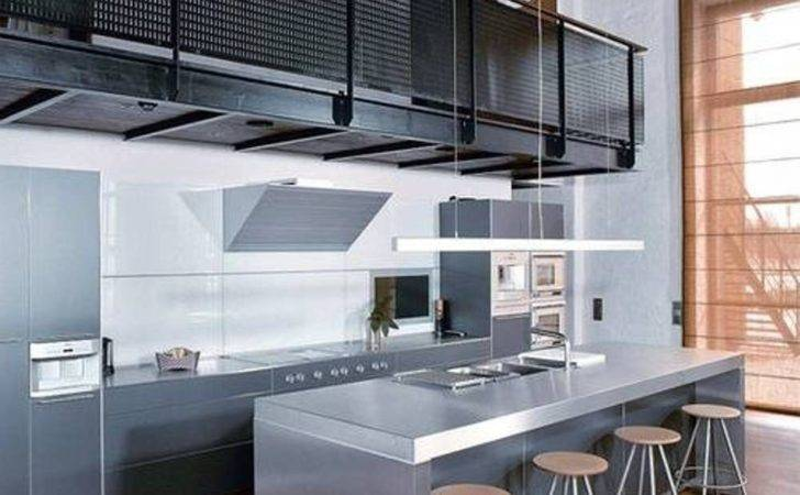 Astonishing Modern Industrial Kitchen Design