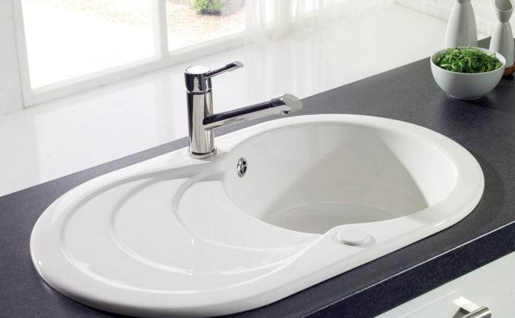 Astracast Cascade Bowl Ceramic Inset Kitchen Sink