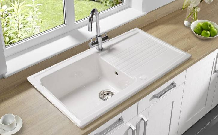 Astracast Equinox Bowl Ceramic Inset Kitchen Sink