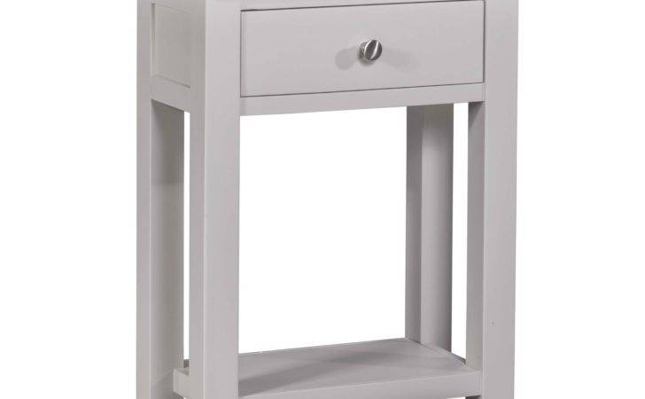 Athena Grey Painted Furniture Small Console Hall Table
