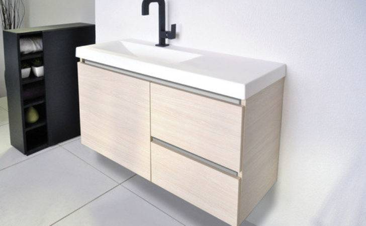 Atlanta Ensuite Off Centre Bowl Wall Hung Vanity