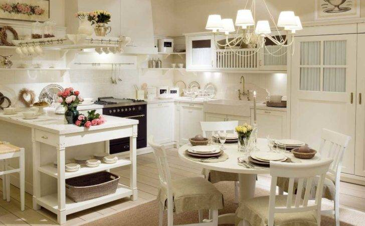 Awesome Country Shabby Chic Kitchen Ideas Home Design