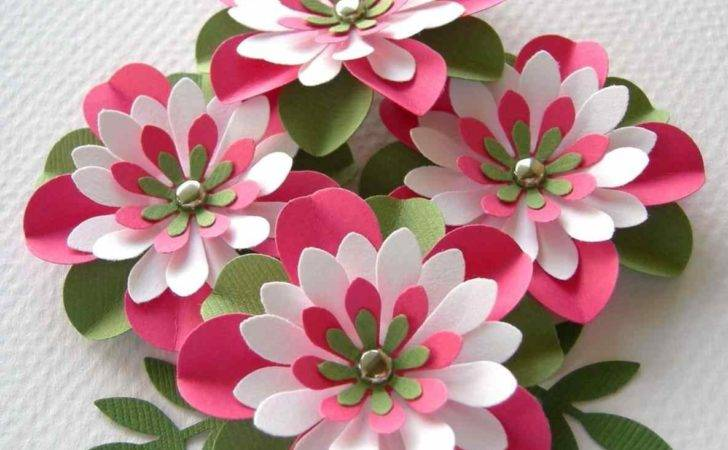Awesome Craft Work Paper Flowers Photos