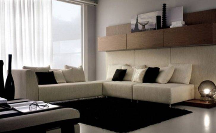 Awesome Interior Layouts Modern Living Room White