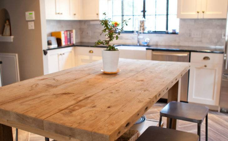 Awesome Kitchen Island Table Decorating Ideas