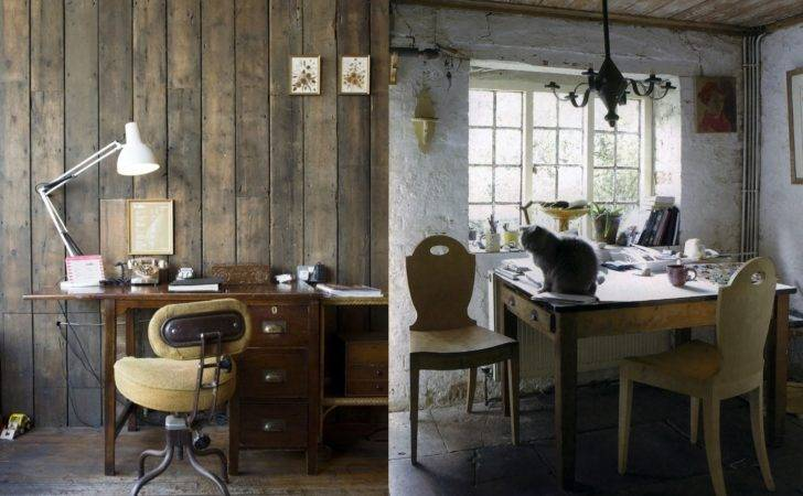 Awesome Rustic Home Office Designs Feed Inspiration