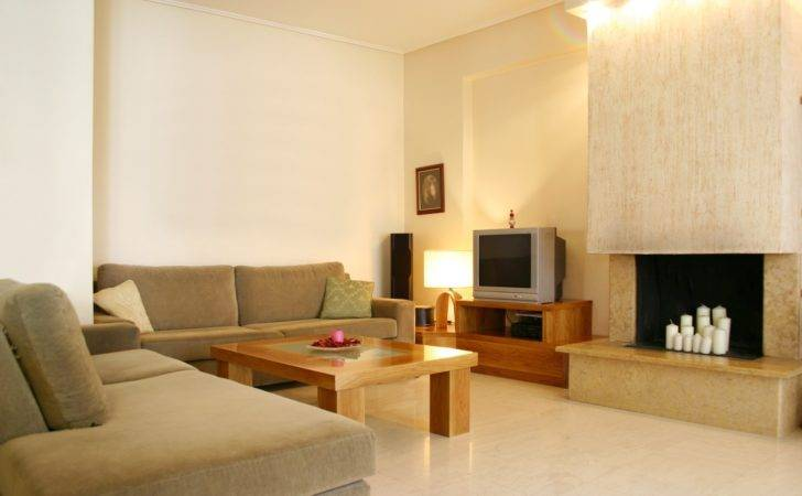 Awesome Simple Living Room Ideas Soft Brown