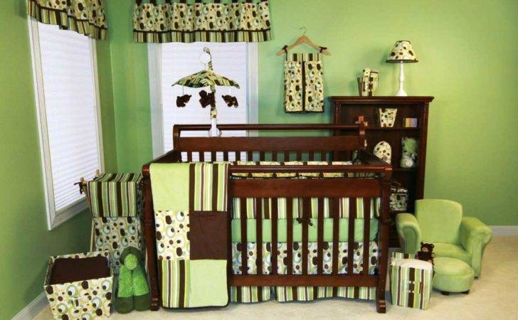Baby Boy Room Paint Ideas Green Brown Colors