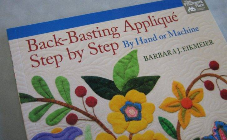Back Basting Applique Step Sewmanyquiltbooks
