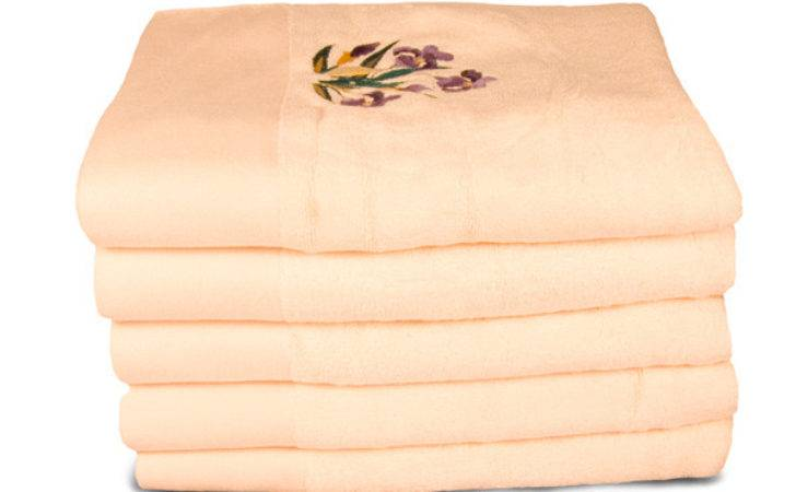 Bamboo Bath Sheet Beach Towel Large Cream Towels